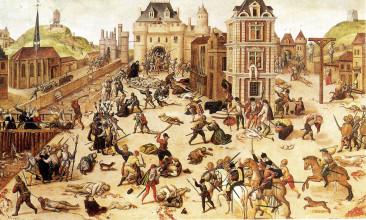 «Резня в Варфоломеевскую ночь в Париже» Дюбуа Амьенского