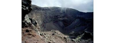 Везувий. Кратер вулкана