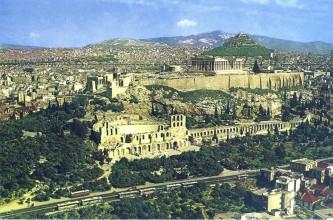 Акрополь. Афины. Современный вид
