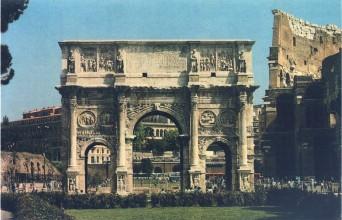 Арка Константина. IV в. н.э. Рим